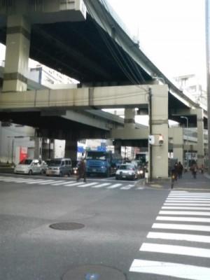 7:44 スタートから4.1km 横浜駅⇒第一京浜