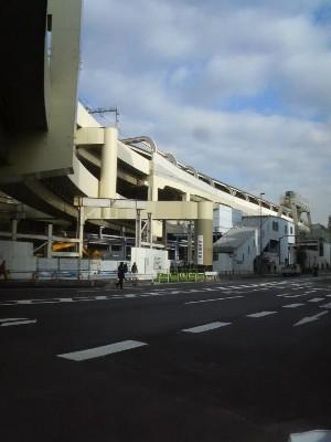 9:20 スタートから20,5km 京急蒲田駅