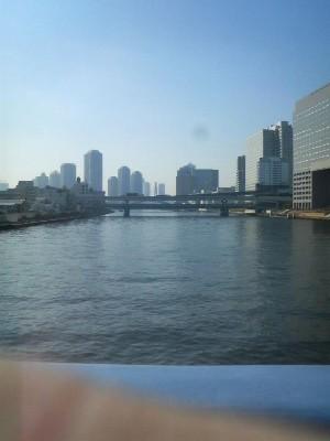 11:08 スタートから39.2km 永代橋