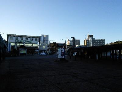 鹿島神宮駅ロータリー