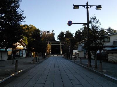 鹿島神宮参道2