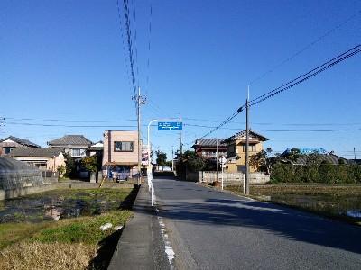 津宮鳥居河岸への道1