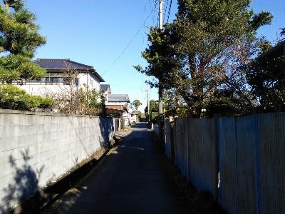 津宮鳥居河岸への道4
