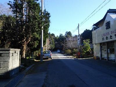 香取神宮への道13