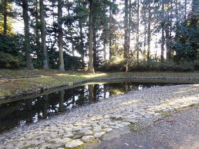 香取神宮 神池