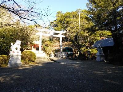香取神宮 総門と狛犬
