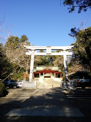 香取神宮 総門と楼門