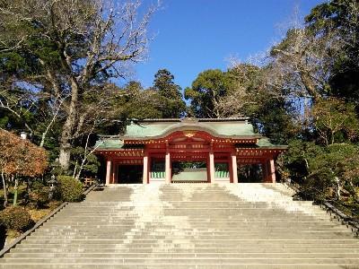香取神宮 楼門2