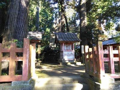 香取神宮 末社日神社・末社月神社