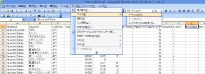 キーワードプランナーcsvデータ5