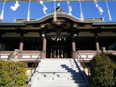 日岡神社 社殿
