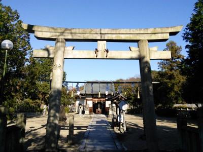 居屋河原日岡神社 (大鳥居神社)