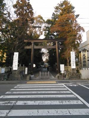 大井神社 鳥居1