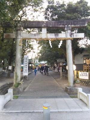 大井神社 鳥居2