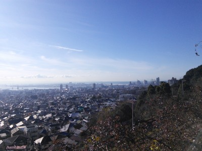 灘丸山公園(三宮側)