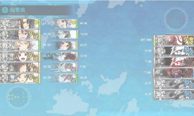 8戦目 大破撤退