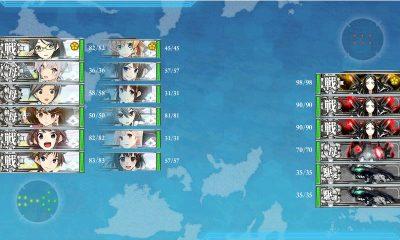 E7:波濤を越えて Eマス 深海中枢泊地戦艦戦隊