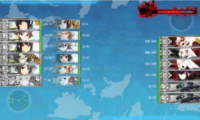 8戦目 千歳・千代田→赤城・北上