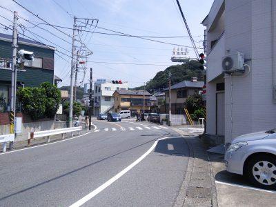 観音崎大橋入口