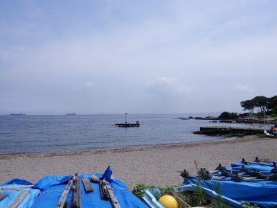観音崎海水浴場