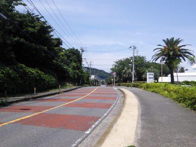 観音崎京急ホテルやSPASSO近くの道路