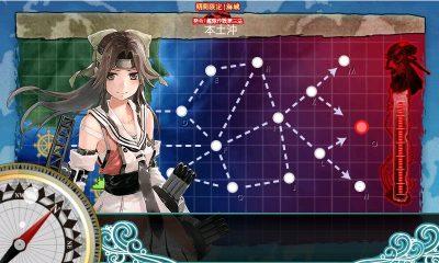 E2「本土沖」マップ