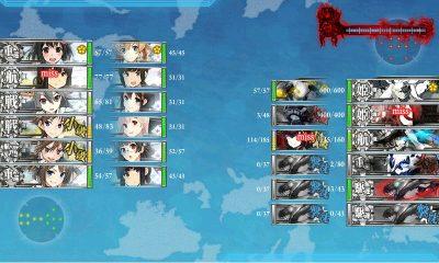 14戦目 基地航空+航空戦+支援艦隊+先制攻撃