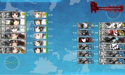 第二艦隊ほぼ無傷で夜戦へ