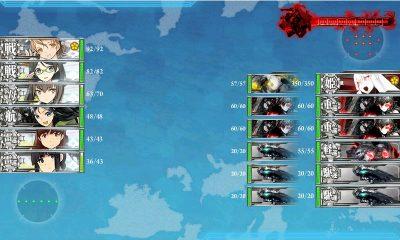 通常艦隊VS連合艦隊
