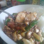 【男の料理】豆腐と挽き肉、じゃがいものとろみ炒め