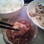 【男の料理】豚肉のロースステーキと和風おろしソース