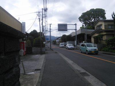 足柄神社への道1