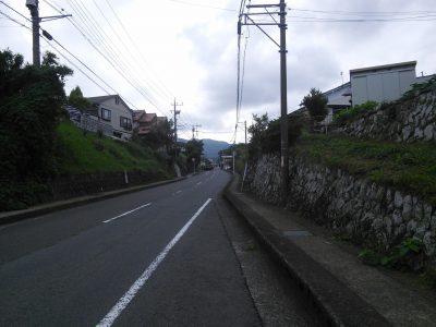足柄神社への道2