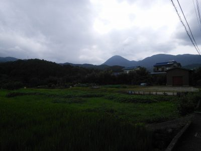 山が印象的