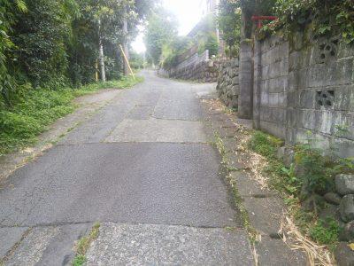 足柄神社への道3