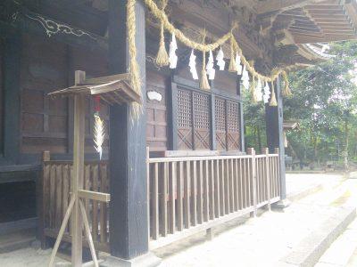 足柄神社 拝殿