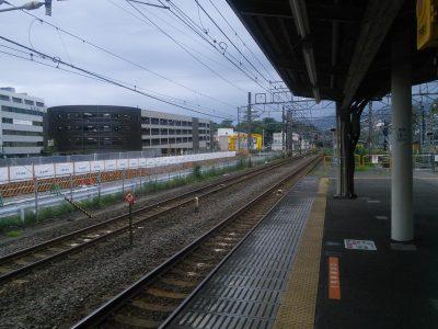 ホームから小田原城で満足