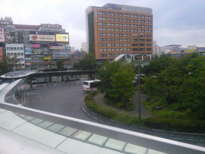 岐阜駅北口ロータリー