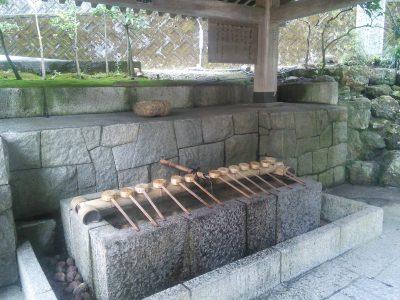 伊奈波神社 手水舎