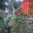 神滝と稲荷神社