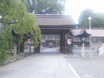 平野神社 東神門