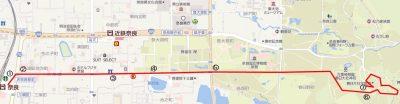 春日大社までの地図