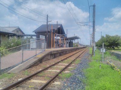 長柄駅ホーム