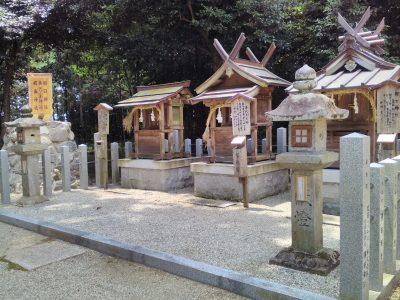 朝日神社・厳島神社・事代神社
