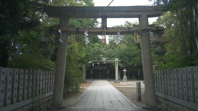 難波八幡神社 鳥居