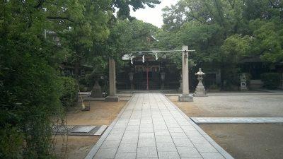 難波八幡神社