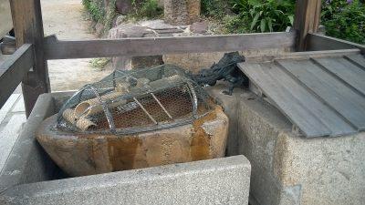 難波八幡神社 手水舎