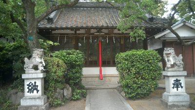 天満神社、愛宕神社、須佐男神社