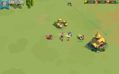 ライズ・オブ・キングダム マップ画面